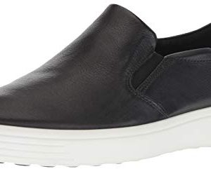 ECCO Men's Soft 7 Casual Loafer Sneaker, Black