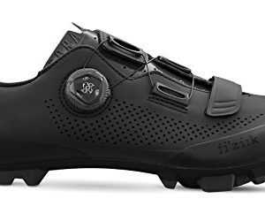 Fizik X5 Terra Cycling Footwear, Black, Size 44