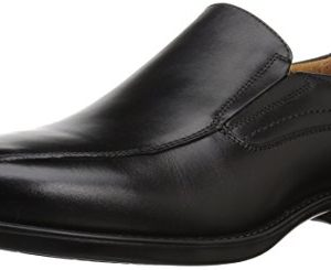 Florsheim Men's Medfield Bike Toe Slip Loafer Dress Shoe, Black, 8.5 Wide