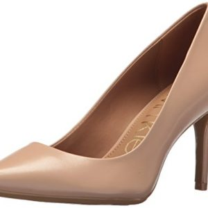 Calvin Klein Women's Gayle Metallic Stingray Pump, desert sand