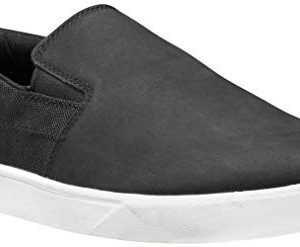 Timberland Men's Groveton Slip On Sneaker, Black Nubuck