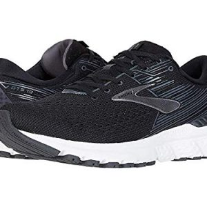 Brooks Men's Adrenaline GTS 19 Black/Ebony/Silver 9.5 D US