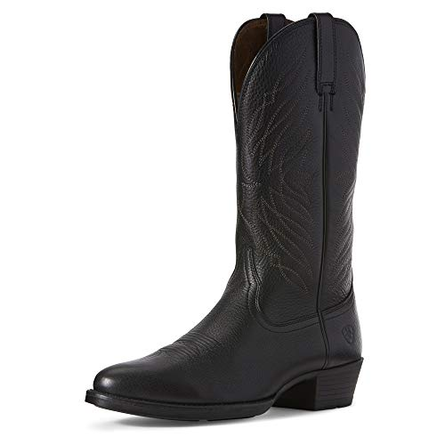 ARIAT Men's Uptown Ultra Western Boot Black Carbon Size 11.5 Ee/Wide Us