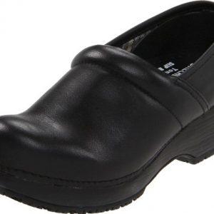 Skechers for Work Women's Clog, Black, 8.5 M US