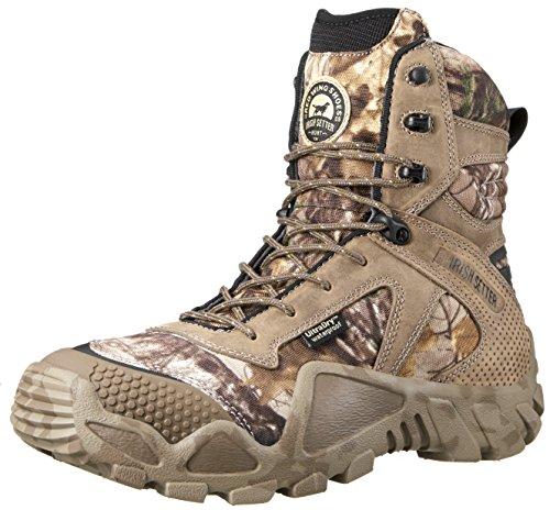"Irish Setter Men's 2870 Vaprtrek Waterproof 8"" Hunting Boot, Realtree Xtra Camouflage,9 D US"