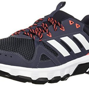 adidas Men's Rockadia Trail Running Shoe, Legend Ink/White/Trace Blue
