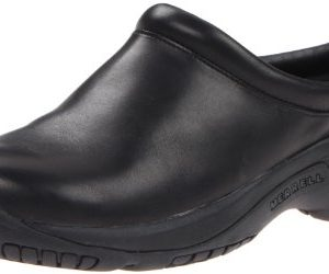 Merrell Men's Encore Gust Slip-On Shoe,Smooth Black Leather