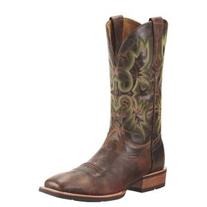Ariat Men's Tombstone Western Cowboy Boot, Weathered Chestnut