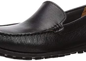 CLARKS Men's Hamilton Free Driving Style Loafer Black Leather 105 M US