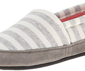 ACORN Women's Summerweight Moc, White Stripe