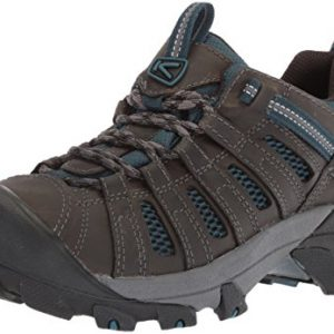 KEEN Men's Voyageur-M Hiking Shoe, Alcatraz/Legion Blue, 11 M US