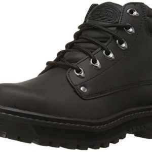 Skechers Men's Pilot Utility Boot,Black