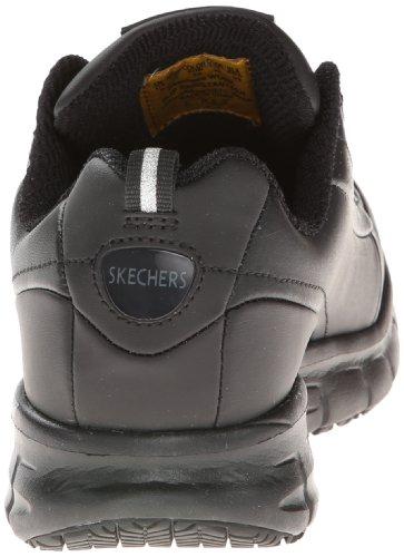 Skechers for Work Women's Sure Track Trickel Slip Resistant Work Shoe Skechers for Work Women's Sure Track Trickel Slip Resistant Work Shoe, Black, 9 M US