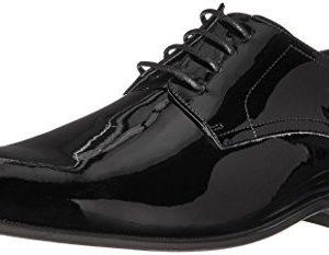 Florsheim Men's Tux Plain Toe Tuxedo Formal Oxford Black Patent
