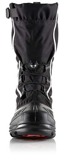 Sorel Men's Alpha Pac Extreme Snow Boot,Black/Red Quartz Sorel Men's Alpha Pac Extreme Snow Boot,Black/Red Quartz,10 M US.