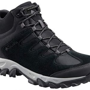 Columbia Men's Buxton Peak MID Waterproof Hiking Boot, Black
