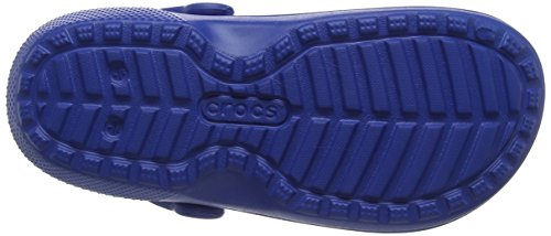 Crocs Classic Lined Clog Mule, Blue Jean/Navy Crocs Classic Lined Clog Mule, Blue Jean/Navy, 8 US Men / 10 US Women.