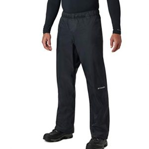 Columbia Men's Rebel Roamer Rain Pant, Black