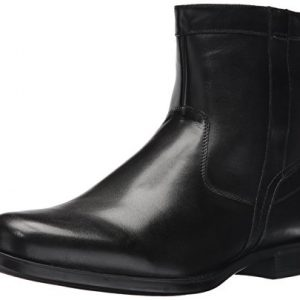 Florsheim Men's Medfield Plain Toe Zip Boot Fashion, Black