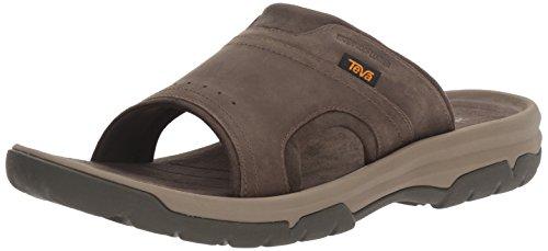 Teva Men's M Langdon Slide Sandal, Walnut, 11 M US