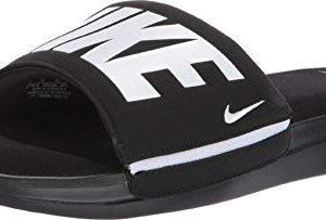 Nike Men's Ultra Comfort 3 Slide Sandal Black/White Size 14 M US