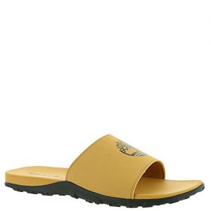 Timberland Men's Fells Sport Slide Sandal, Wheat with Black, 12 Medium US