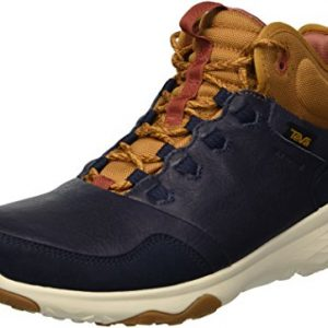 Teva Men's M Arrowood 2 Mid Waterproof Hiking Boot, Midnight Navy