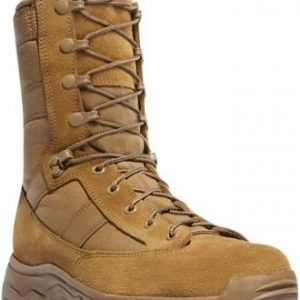 "Danner Men's Reckoning Hot 8"" Combat Boot,Coyote Full Grain Leather/Nylon"