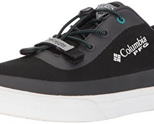 Columbia PFG Men's Dorado CVO PFG Sneaker, Black, Emerald sea