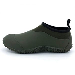 SYLPHID Unisex Waterproof Garden Shoes Womens Neoprene Rain Boots