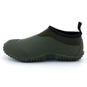 SYLPHID Unisex Waterproof Garden Shoes Womens Neoprene Rain Boots