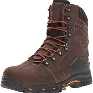 "Danner Men's Vicious 8"" 400G NMT Work Boot, Brown"