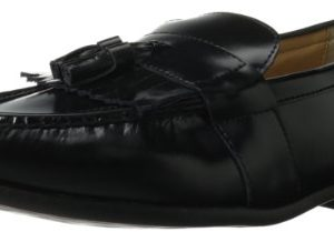 Nunn Bush Men's Keaton Slip-On Loafer,Black