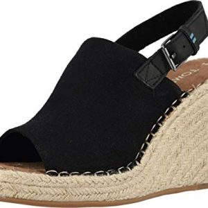 TOMS Womens Monica Wedge Sandal Shoes