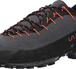 La Sportiva Approach Shoe, Carbon/Flame