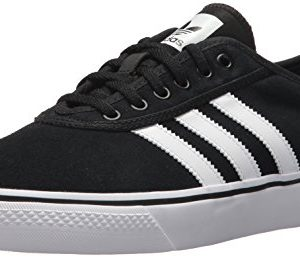 Adidas Originals Men's Adi-Ease Premiere Tennis Shoe, core Black/White/core Black, 9.5 M US