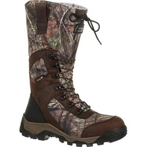 RoRocky Men's, Mossy Oak Break cky Men's Sprt Pro Tmbr Stkr Wtrprf Otdr Boot, Mossy Oak Break