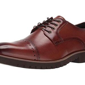 STACY ADAMS Men's Barcliff Cap-Toe Lace-Up Oxford