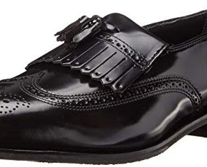 Florsheim Men's Lexington Kilty Tassel Loafer,Black