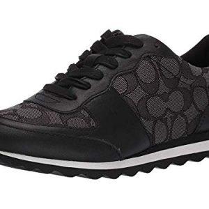 Coach Women's Low Top Black/Smoke