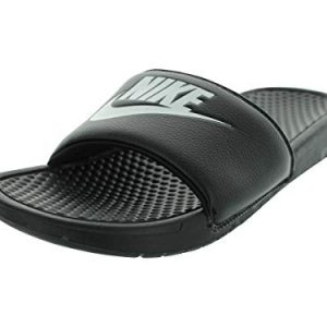 Nike Men's Benassi Just Do It Sandal, red Orbit/Black - Anthracite