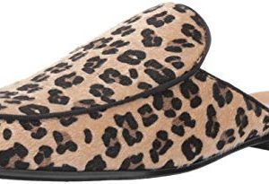STACY ADAMS Men's Sterling Bit Slip-On Mule Loafer Leopard