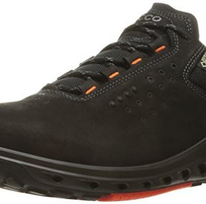 ECCO Men's Biom Venture Leather Gore-TEX Tie Hiking Shoe Black