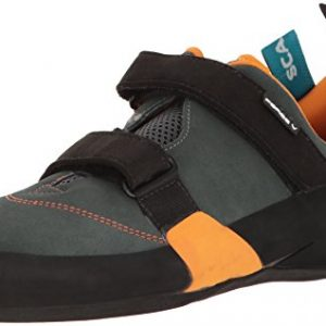 SCARPA Men's Force V Climbing Shoe, Mangrove/Papaya