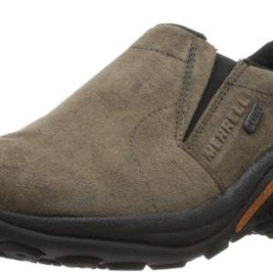 Merrell Men's Jungle Moc Waterproof Slip-On Shoe,Gunsmoke