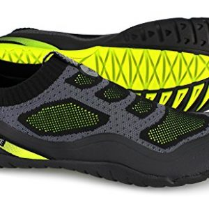 Body Glove Men's Aeon Water Shoe, Black/Neon Yellow