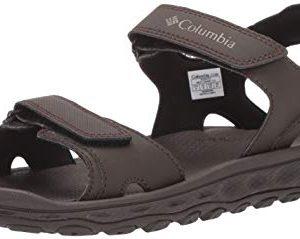 Columbia Men's Buxton 2 Strap Sport Sandal, Cordovan