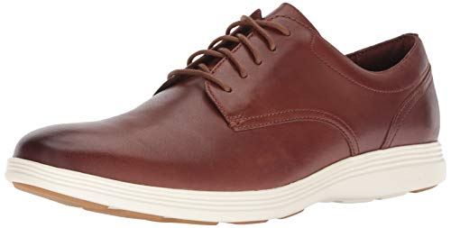 Cole Haan Men's Grand Tour Plain Oxford Woodbury/Ivory Flat