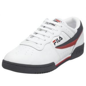 Fila Men's Original Vintage Fitness Shoe,White/Navy/Red,12 M