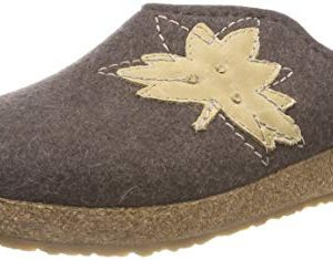 HAFLINGER Clog | Grizzly Mood, Brown